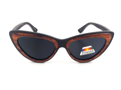 Dove Real Wood/Metal Sunglasses - Shaydz