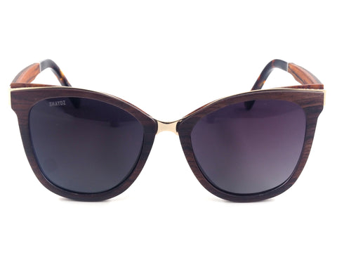 Holme Real Wood Sunglasses - Shaydz