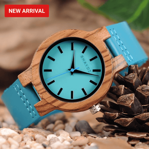 Gallagher Ladies Real Wood Ladies Quartz Watch - Shaydz