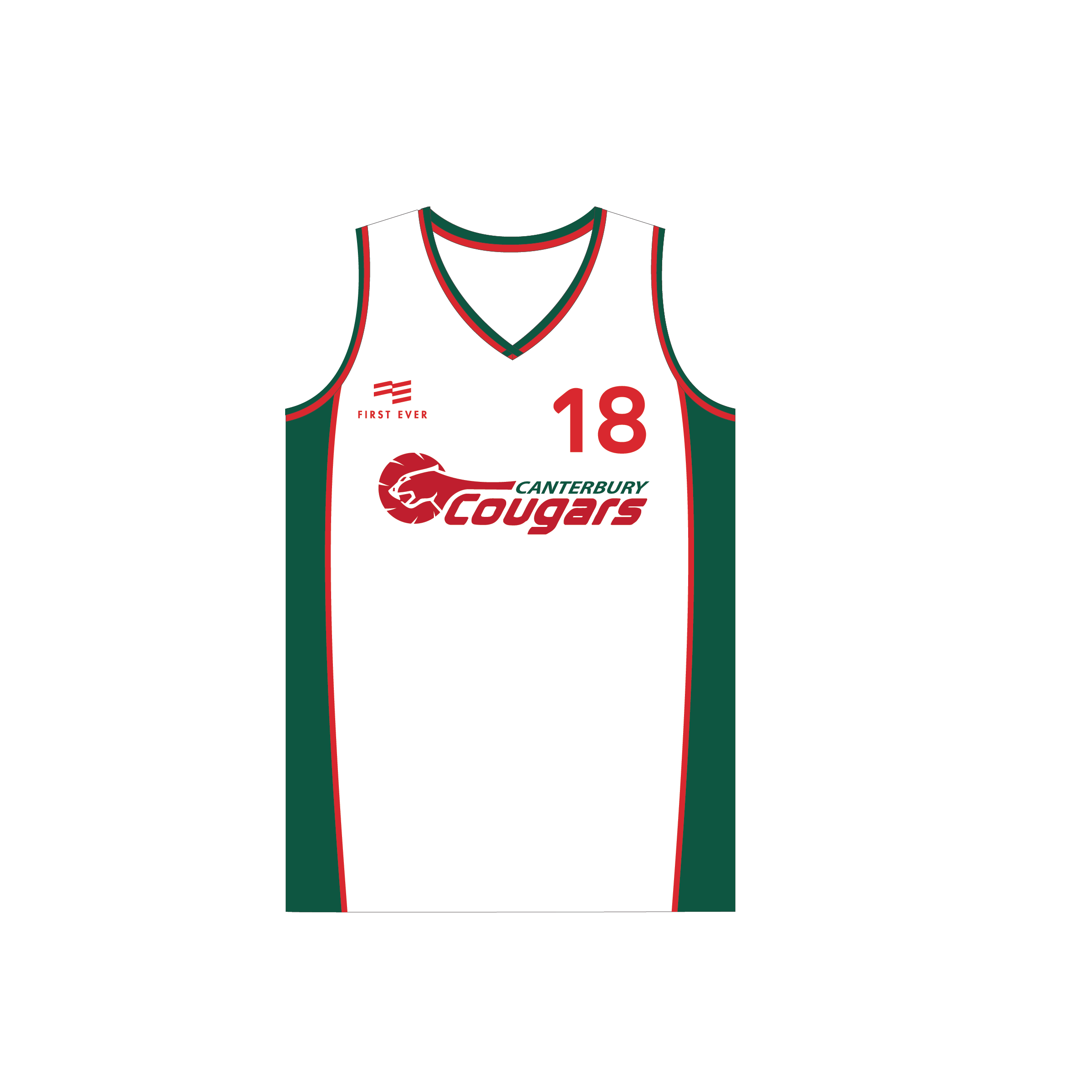 Canterbury Cougars Playing Kit