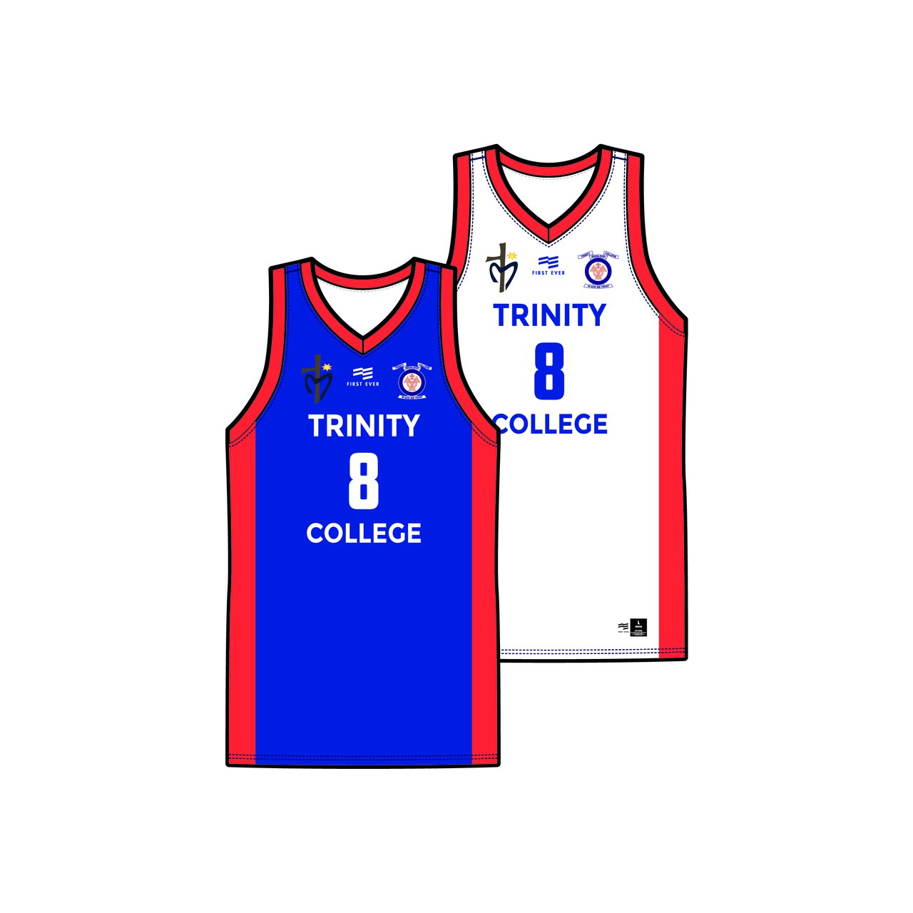 Trinity College Reversible Playing Jersey