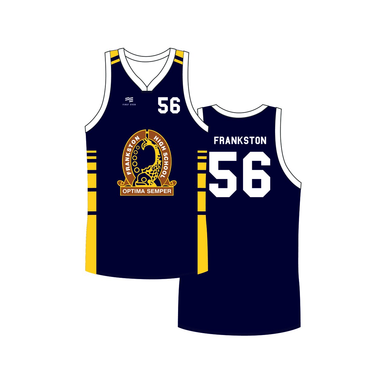 Frankston High Reversible Playing Jersey