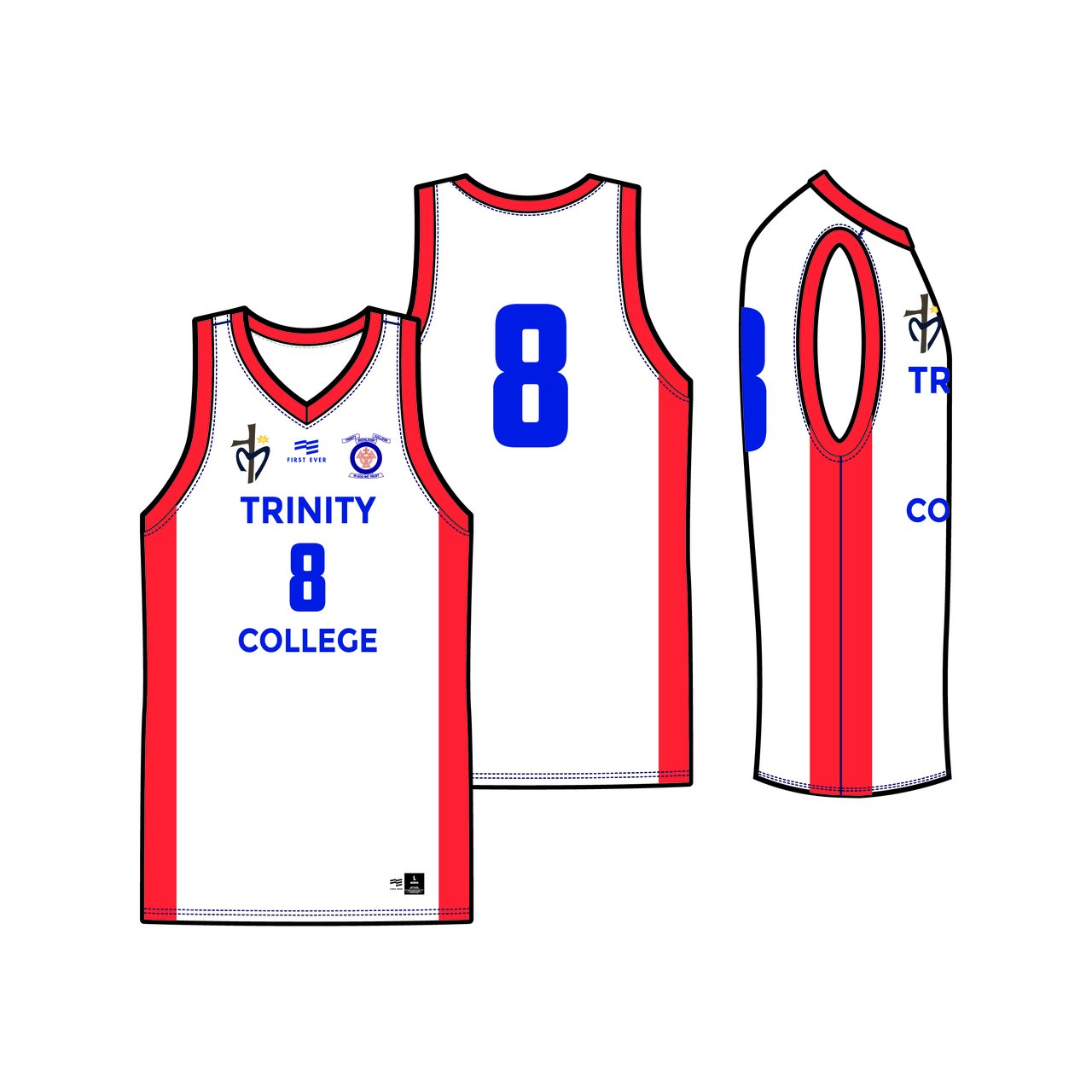 Trinity College Reversible Playing Kit
