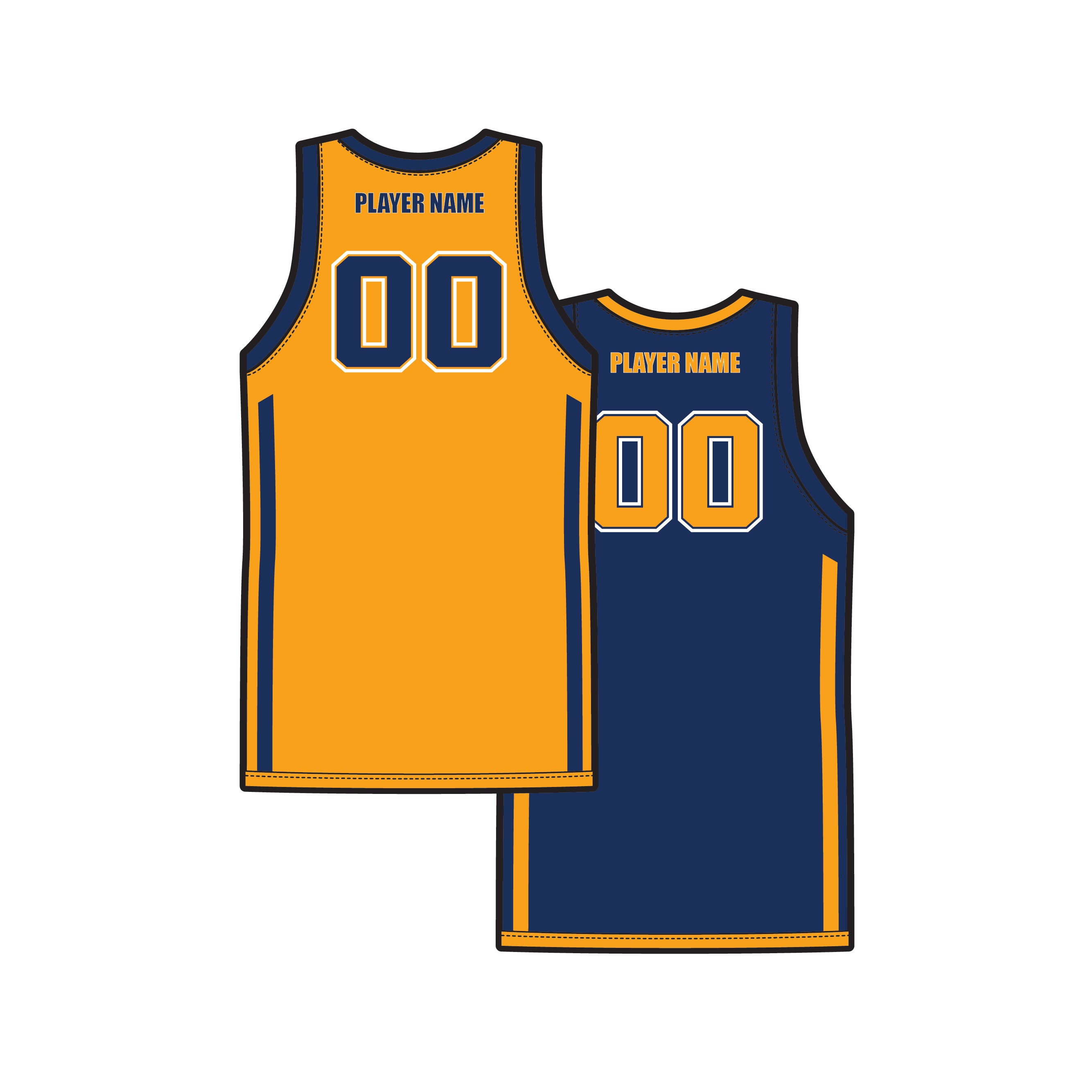 KEBC Reversible Playing Jersey