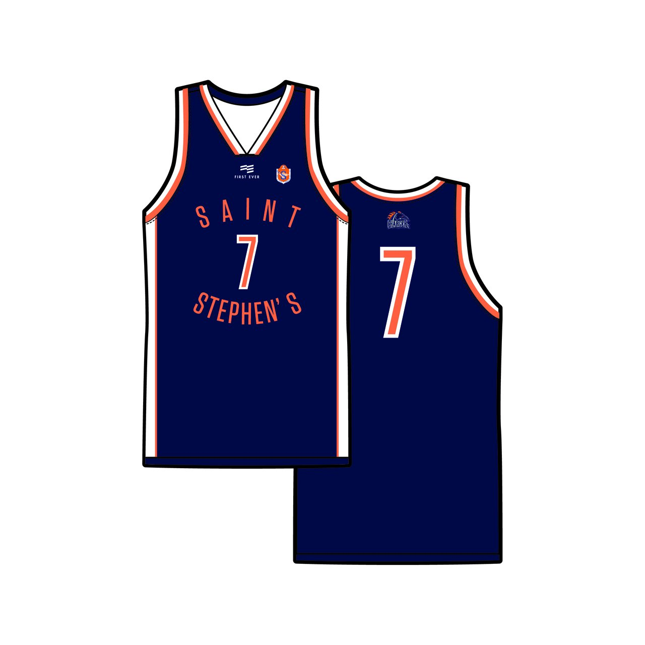 St Stephens College Reversible Playing Jersey