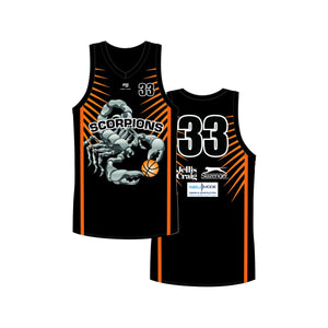 Glen Iris Scorpions Reversible Playing Kit