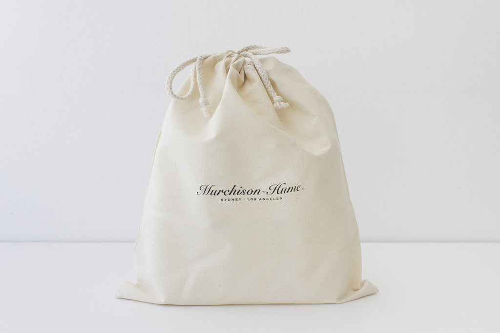 Murchison-Hume Calico Drawstring Bag
