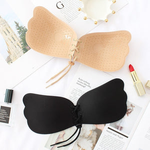 Wireless Self Adhesive Stick On Bras Strapless Push Up Bras