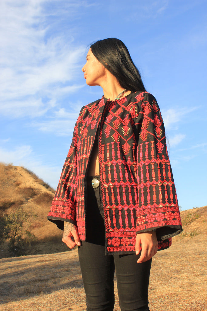 Hand Embroidered Bedouin Jacket