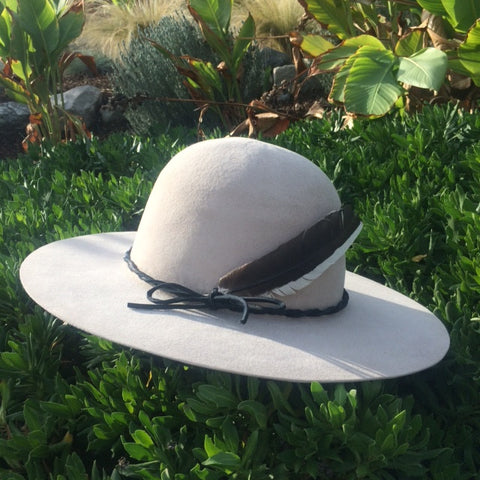 "Custom Listing For Al Lone Hawk Hat ""Silver Belly"""