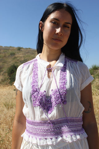 1940s Hungarian Hand Embroidered Folk Blouse
