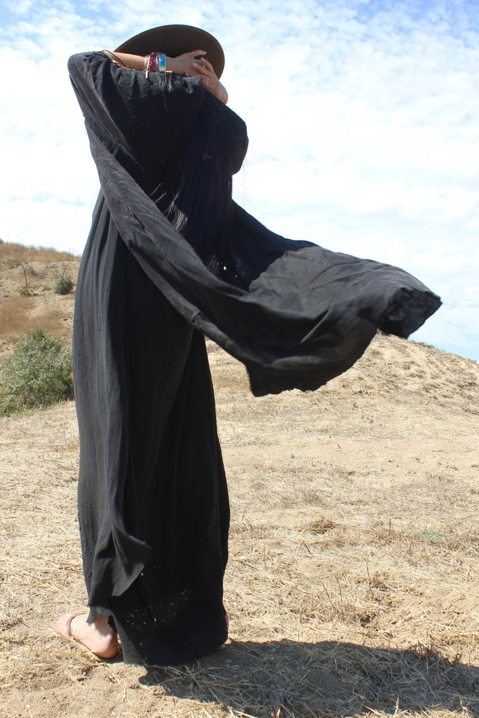 "Totally Blown ""Black Hole"" Kimono Duster"