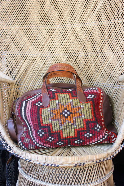 Honeywood Orginal Quot Gypsy Overnighter Quot One Of A Kind Carpet Bag