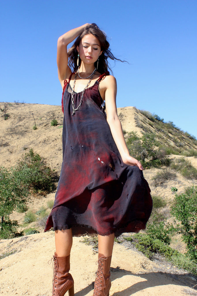 Totally Blown Hand Dyed Tank Dress