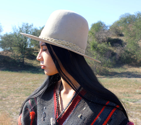 "Lone Hawk Hats ""Macrame Moon"""