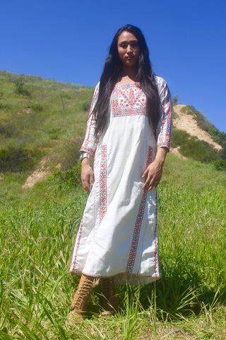 Rare Antique Bedouin Kaftan Handmade and One-of-A-Kind