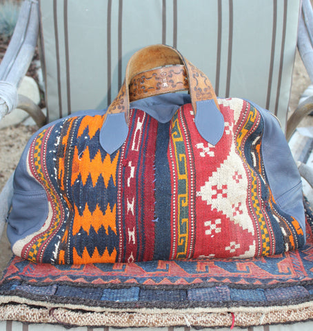 "Honeywood ""Gypsy Overnighter"" One-of-a-Kind Hand Made Bag"