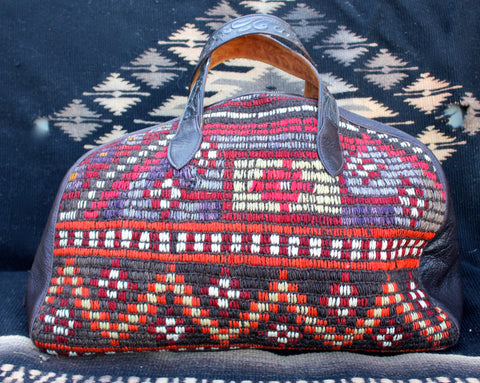 "Honeywood Original ""Gypsy Overnighter"" One-of-A-Kind Carpet bag"