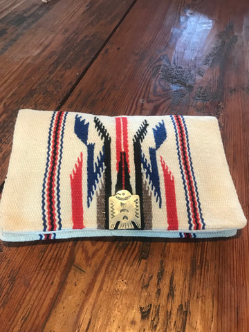 Mint 1930s/40s Handwoven Chimayo Clutch
