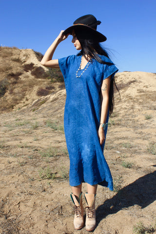 """Indigo Dress"" Totally Blown"