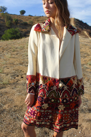 """Dream Jacket"" Stunning Rajasthani Hand Embroidered Jacket"