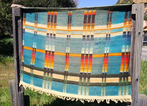1940s Wool Indian Trade Blanket