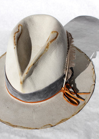 """The V Hawk"" One-of-A-Kind Lone Hawk Hat"