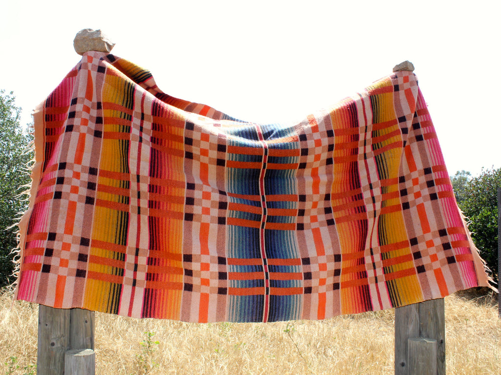 Ombre Camp Blanket