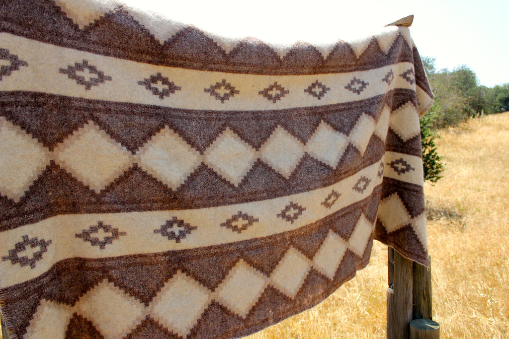 1940s Muted Native Camp Blanket