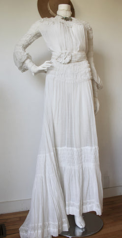 Belle Epoque Divine Victorian Wedding Ensemble
