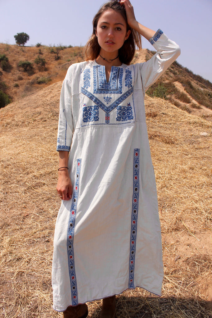 Antique Handmade Bedouin Dress