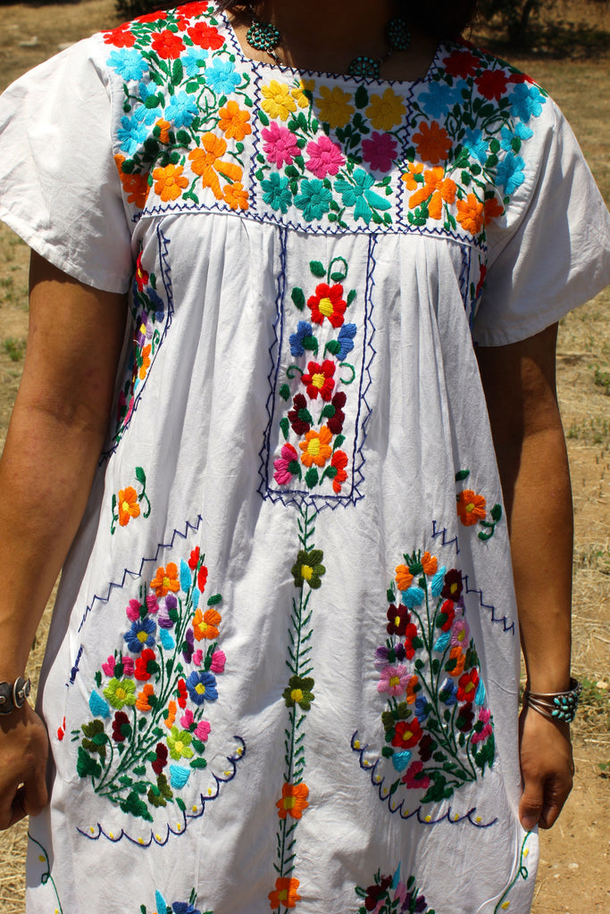 Mexican Maxi Hand Embroidered Wedding Dress – Honeywood