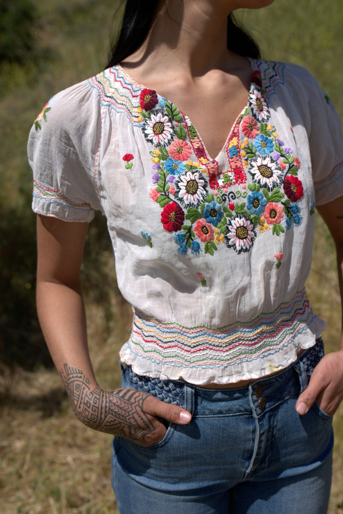 The Ultimate Hungarian Folk Blouse