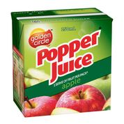 Load image into Gallery viewer, Golden Circle Popper Apple Juice