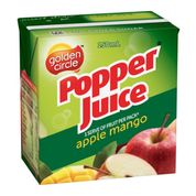 Load image into Gallery viewer, Golden Circle Popper Apple Mango Juice