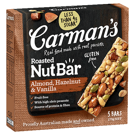 Carman's Almond, Hazelnut & Vanilla Nut Bars