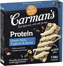 Carman's Greek Style Yoghurt & Berry Protein Bar