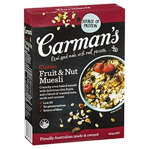 Carmans Classic Fruit & Muesli