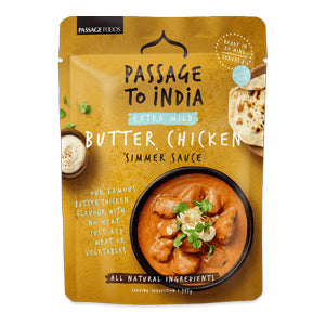 Passage to India Extra Mild Butter Chicken Simmer Sauce