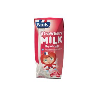 Pauls Strawberry Flavoured Milk