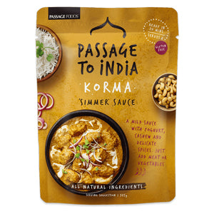 Passage to India Korma Curry Simmer Sauce