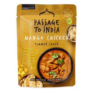 Passage to India Mango Chicken Curry Simmer Sauce