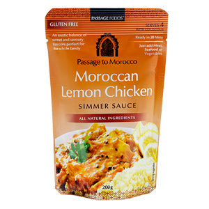 Passage to Morocco Spiced Lemon Chicken Simmer Sauce