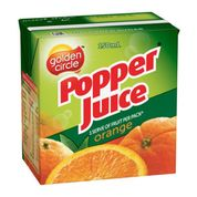 Golden Circle Popper Orange Juice