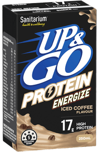 Sanitarium UP&GO Protein Energize Iced Coffee