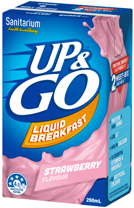 Sanitarium UP&GO Strawberry