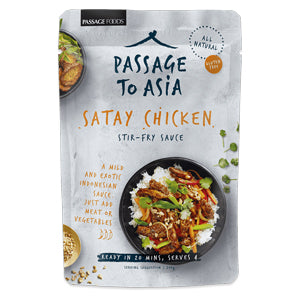 Passage to Asia Satay Chicken Stir-Fry Sauce