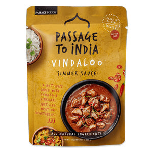 Passage to India Vindaloo Curry Simmer Sauce