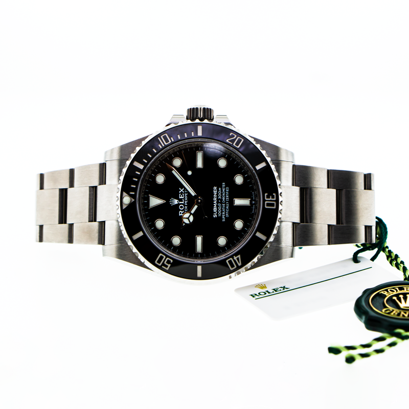 Rolex Submariner 41mm Stainless Steel Black Dial & Bezel 124060-Da Vinci Fine Jewelry