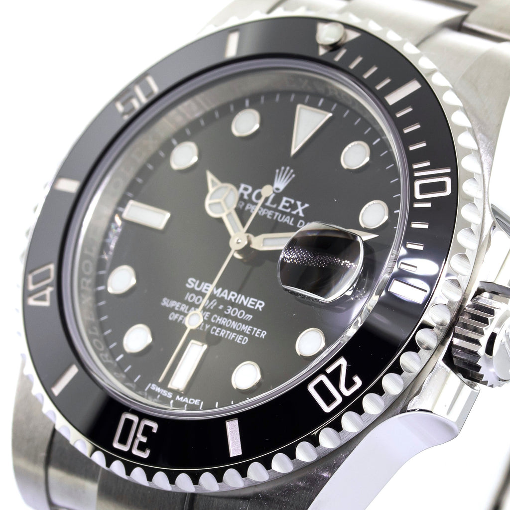 Rolex Submariner Date 40mm Stainless Steel Black Dial & Black Bezel 116610LN-Da Vinci Fine Jewelry